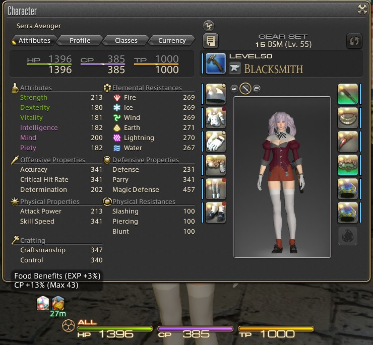 Final Fantasy XIV (FFXIV) 100% 2 star HQ Crafting setup and